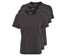 3 PACK TShirt basic black