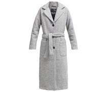 WONNA Wollmantel / klassischer Mantel light grey