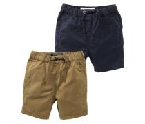 2 PACK - Shorts - khaki