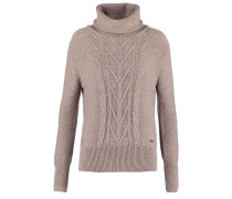 CARAWAY Strickpullover taupe