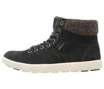MADIEKE Sneaker high jet black/natura/espresso gum