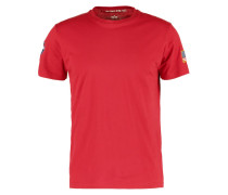NASA TShirt print speed red