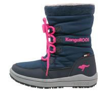 LORE Snowboot / Winterstiefel dark navy/magenta