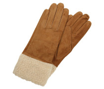 VMANIE Fingerhandschuh tobacco brown