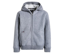 Fleecejacke heather grey