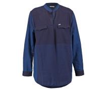 TUNIC SHIRT Bluse washed blue