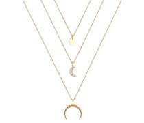 Halskette - goldfarben