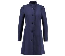 Wollmantel / klassischer Mantel - lapis blue