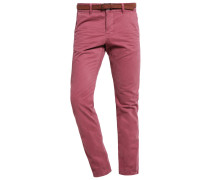 Chino bordeaux red
