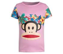 FLOWERS - T-Shirt print - light berry