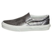CLASSIC DISCO PYTHON Slipper black/blanc de blanc