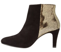 CRISTAL Ankle Boot black/gold