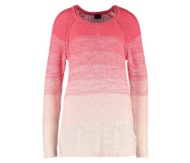 Strickpullover coral