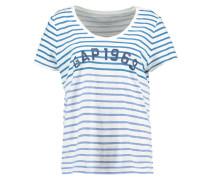 T-Shirt print - blue stripe