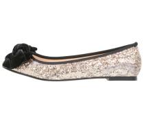 ESGUEVA Klassische Ballerina black/gold
