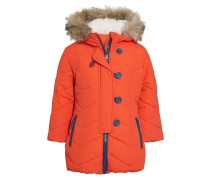 Wintermantel orange