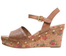 High Heel Sandaletten nut