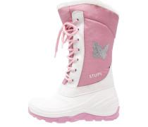 Snowboot / Winterstiefel hellgrau/rosa