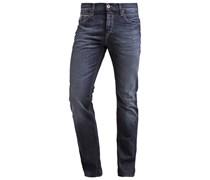 LONGJOHN Jeans Straight Leg dark worn