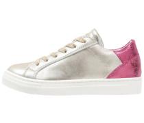 Sneaker low platinum/fucsia