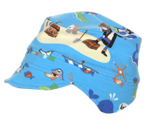 Mütze aquamarin/piraten