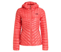 Winterjacke spiced coral