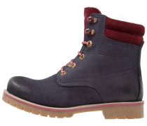 Trekkingboot navy/red