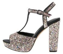 MADA High Heel Sandaletten multicolorglitter