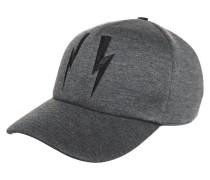 Cap - slate melange/black