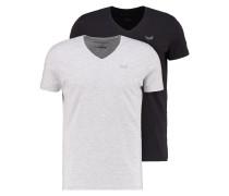 2 PACK GIFT SLIM FIT TShirt basic white/black