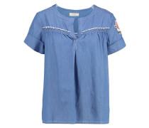 FILIPPA - Bluse - medium blue denim