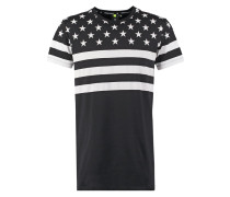 TShirt print black/white