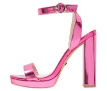 LUXURY High Heel Sandaletten pink