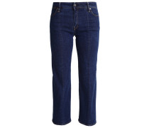 GStar LANC 3D KICK CROPPED FLARE Flared Jeans darkblue denim