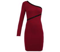 Jerseykleid dark red