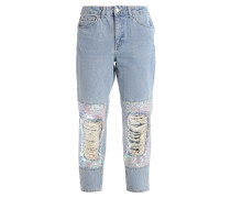 MOM - Jeans Tapered Fit - bleached denim