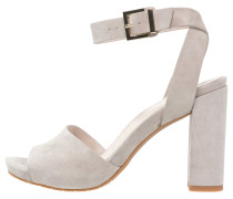 TOREN - High Heel Sandaletten - light grey