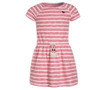 EASY - Strickkleid - pink/white