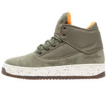 SHUTDOWN - Sneaker high - army green/flight orange/cream