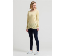 LEXA Langarmshirt muted yellow