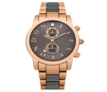 Uhr - rosegold-coloured