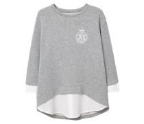 ESCUDO Sweatshirt medium heather grey