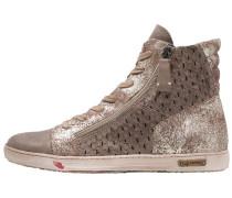 JOMAR - Sneaker high - bandolero/gold flan/marron