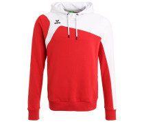 Kapuzenpullover - red/white
