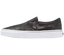 CLASSIC - Slipper - metallic/silver/black