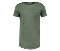 WICEDE TShirt basic dirty combat green