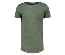 WICEDE - T-Shirt basic - dirty combat green