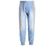 LIV - Stoffhose - soft blue denim