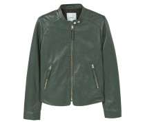 NASH Lederjacke emerald green
