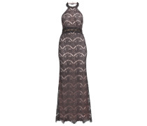 Ballkleid graphit grey/nude